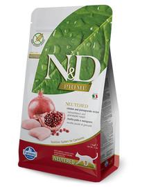FARMINA N&D Cat Chicken & Pomegranate NEUTERED Adult 5 kg